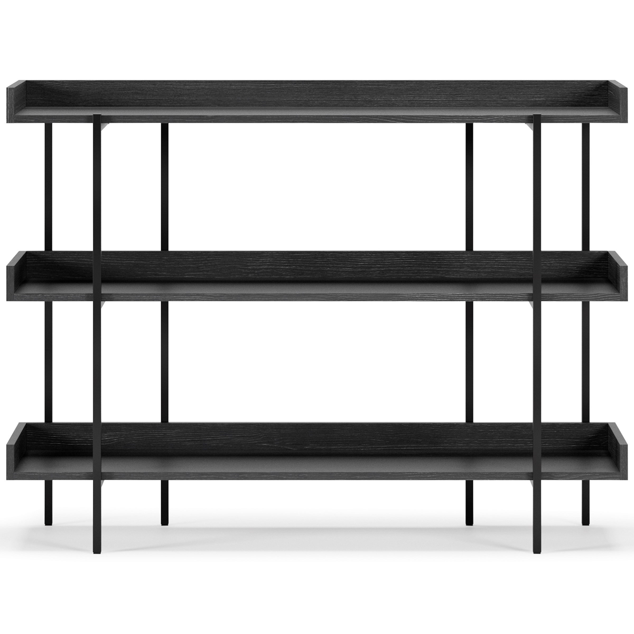 Console/Bookshelf with Gallery Shelves