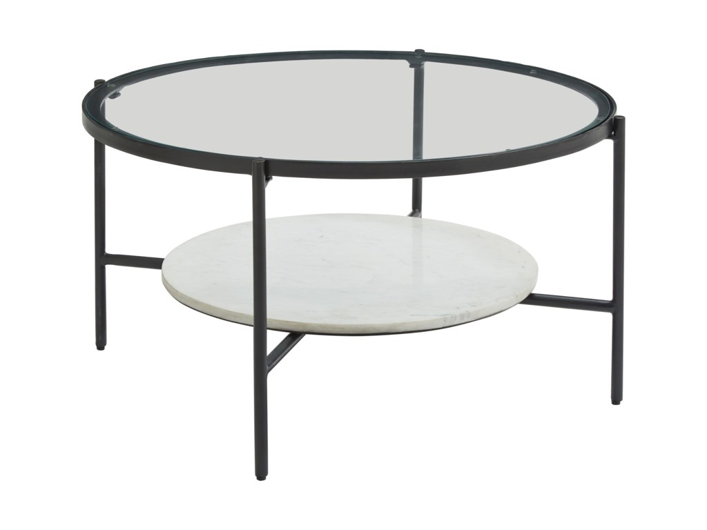 Signature Design by Ashley ZalanyRound Cocktail Table