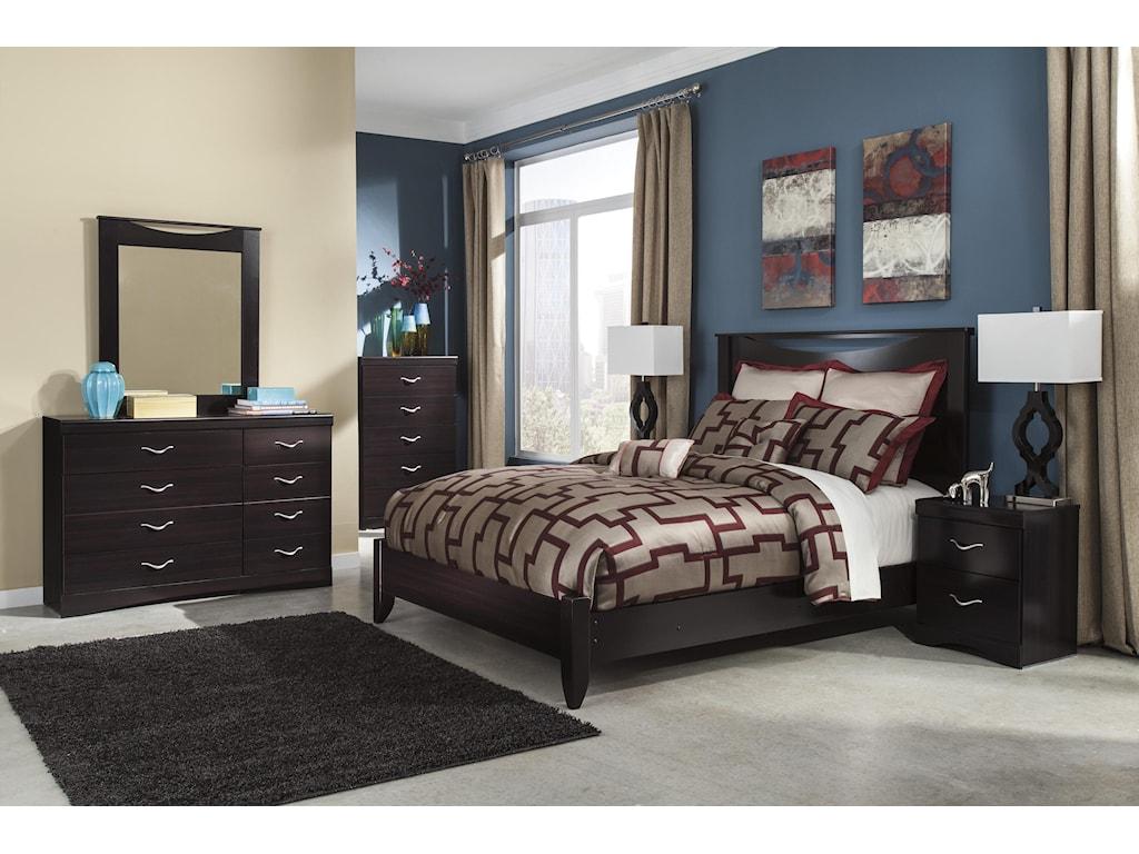 Signature Design by Ashley Zanbury4PC Queen Bedroom