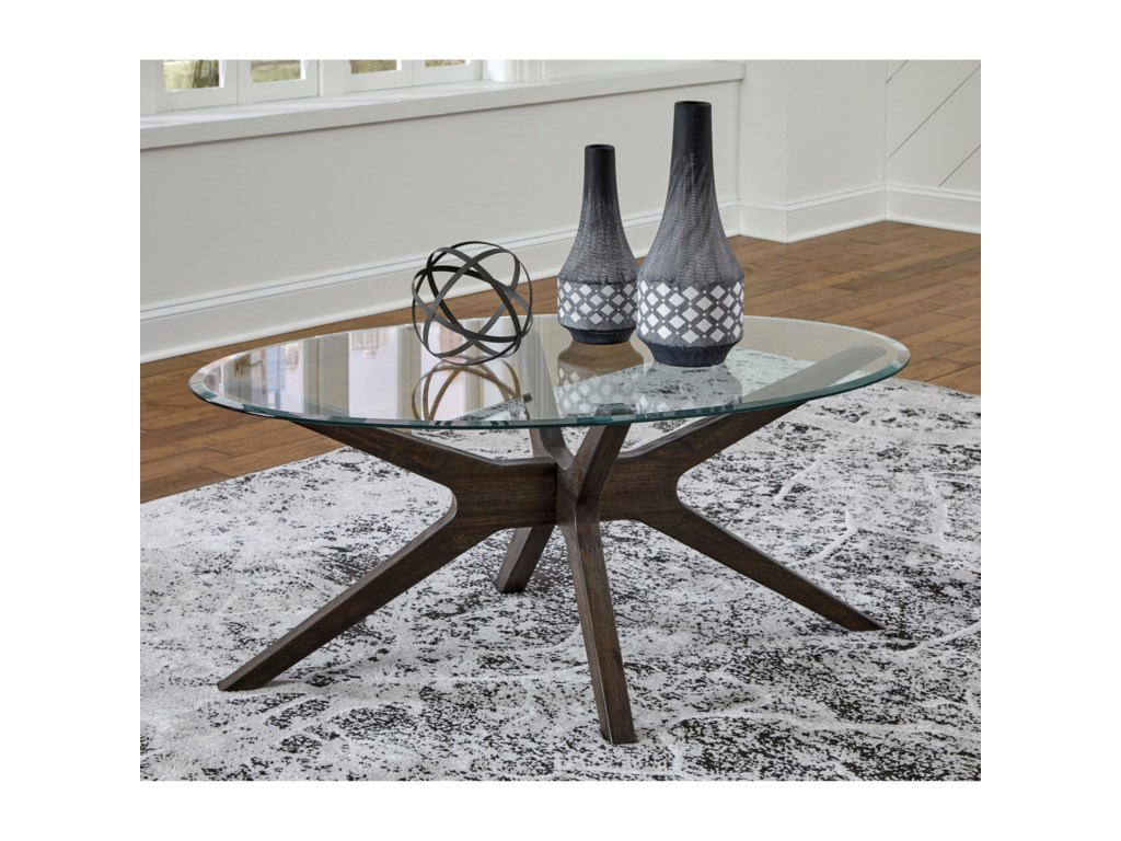 Signature Design by Ashley ZannoryOval Cocktail Table