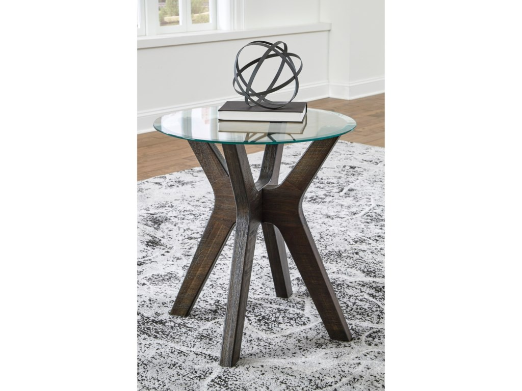 Signature Design by Ashley ZannoryRound End Table