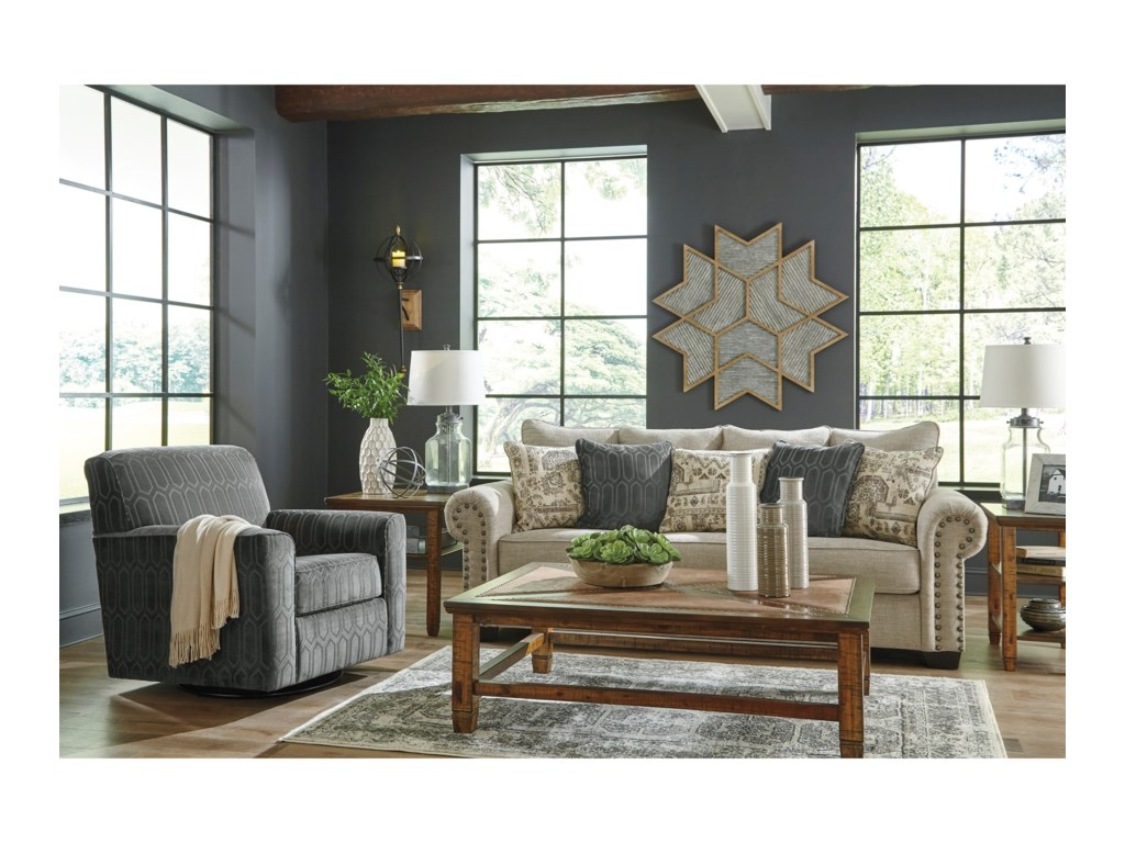 Signature Design by Ashley ZarinaStationary Living Room Group