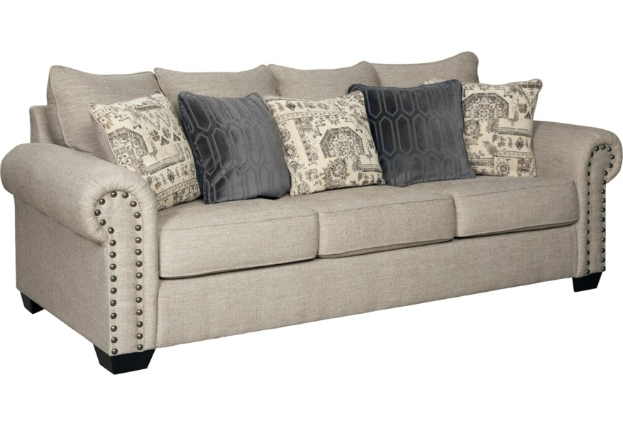Zarina 9770438 Transitional Sofa