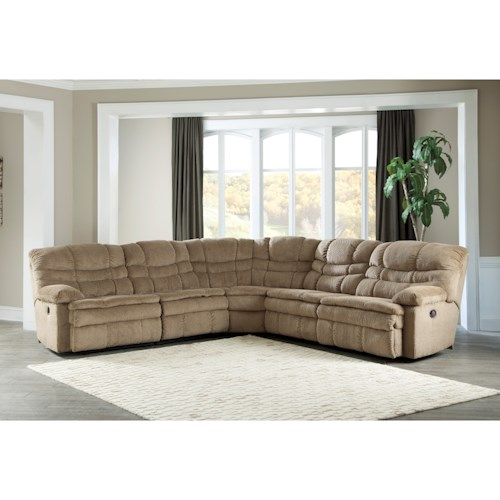 Signature design by ashley zavion 5 piece reclining for 5 piece living room furniture