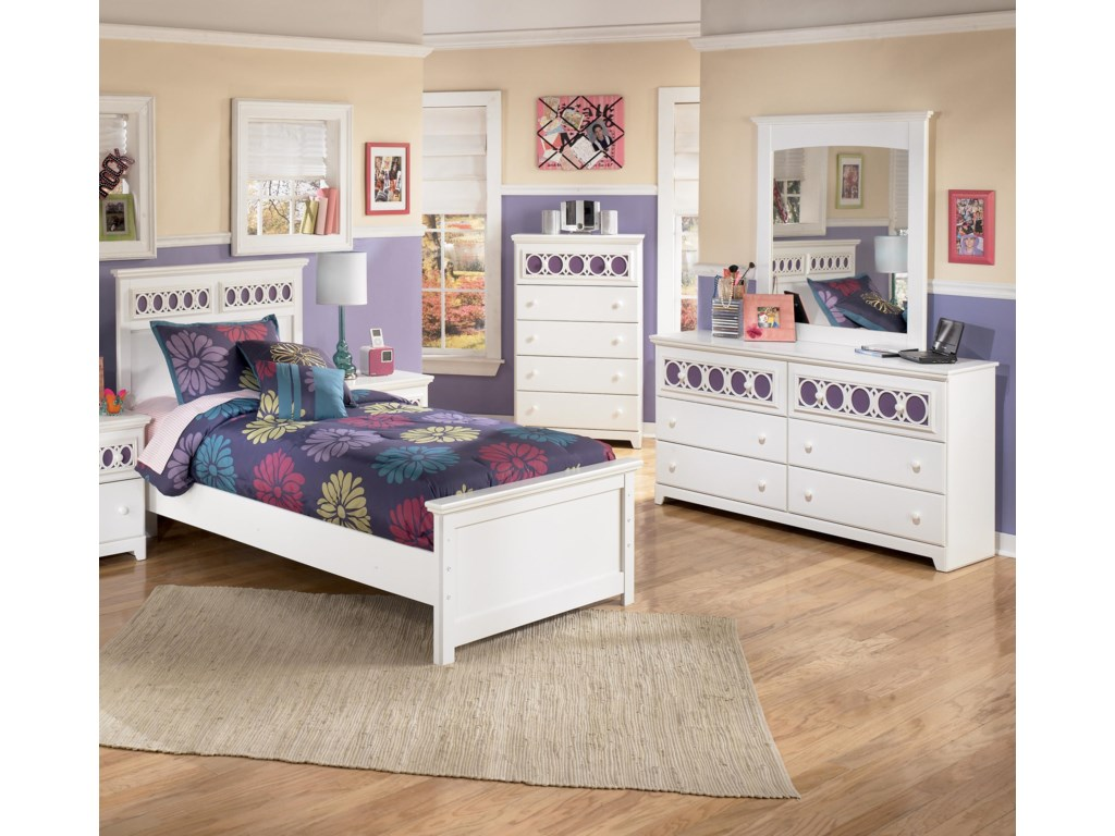 Signature Design by Ashley Zayley3 Piece Twin Bedroom Group