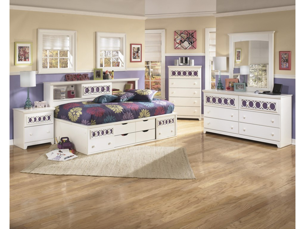 Ashley Signature Design ZayleyTwin Bedroom Group