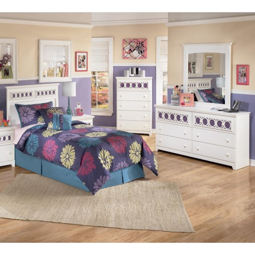 Signature Design by Ashley Zayley 3 Piece Twin Bedroom Group