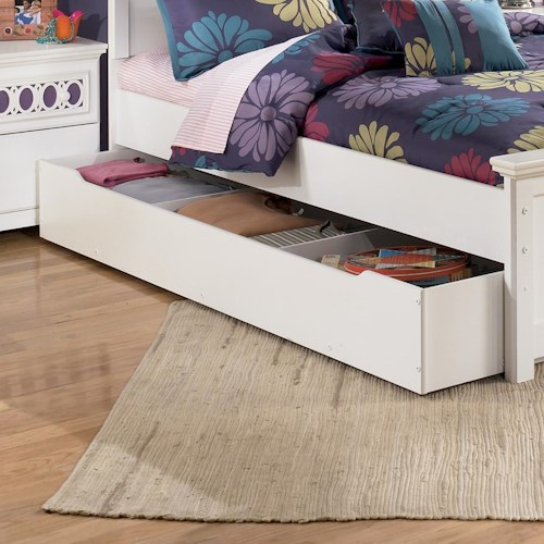 Ashley Signature Design Zayley Trundle Storage Box | Rooms and ...