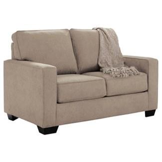 - Signature Design By Ashley Zeb Twin Sofa Sleeper With Memory Foam