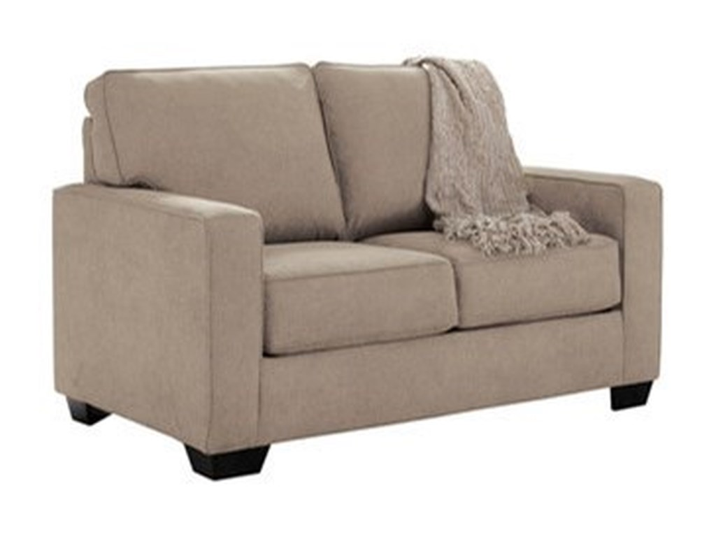 Zeb Twin Sofa Sleeper With Memory Foam Mattress By Ashley Signature Design At Dunk Bright Furniture