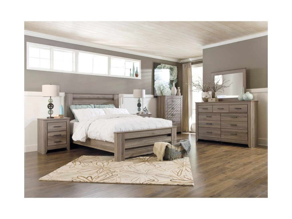 Signature Design by Ashley ZelenQueen Bedroom Group