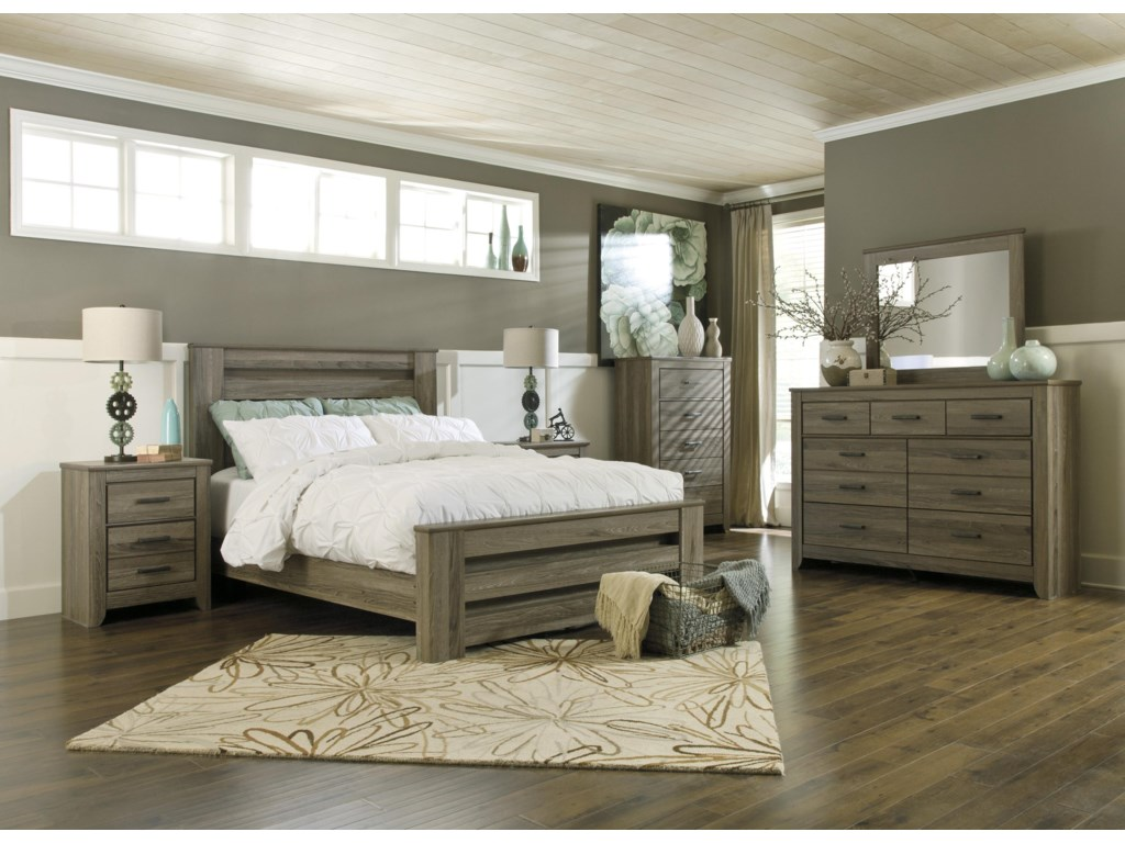 Signature Design by Ashley ZelenQueen Panel Bed