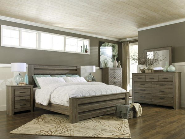King 4-Piece Bedroom