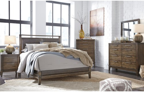 Signature Design by Ashley Zilmar Queen Bedroom Group