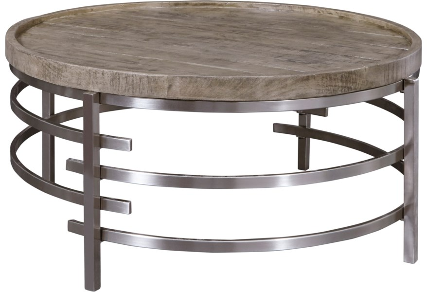 Ashley Signature Design Zinelli T681 8 Round Cocktail Table With