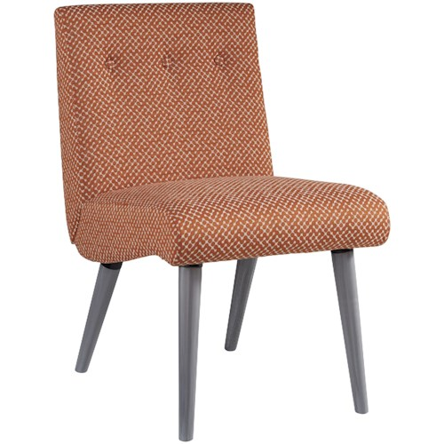 Signature Design by Ashley Zittan Mid-Century Modern Upholstered Accent Chair