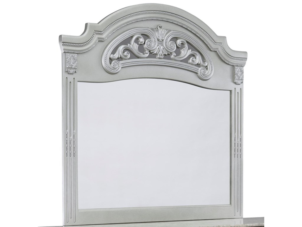 Ashley Signature Design Zolena Glam Bedroom Mirror Rooms And Rest - Unique-wall-mirrors-from-opulent-items