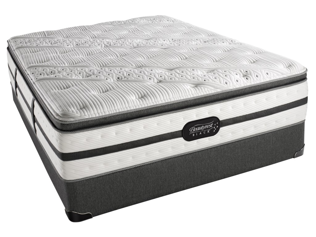 Beautyrest Beautyrest Black - EvieFull Plush Pillow Top Mattress Set
