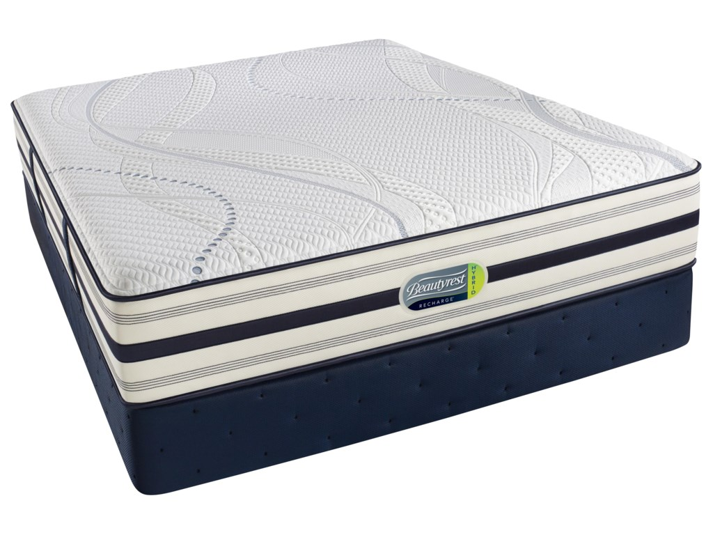 Simmons LantannaTwinHybrid Plush Mattress Set