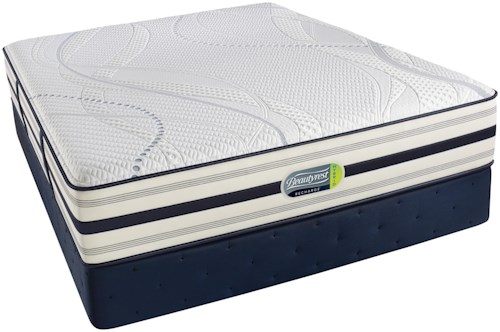 Simmons Scott Plush Twin Hybrid Plush Mattress and Foundation