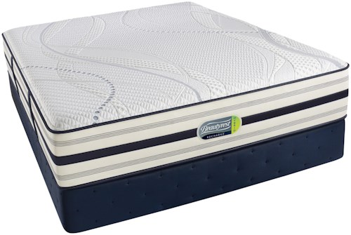 Simmons Beautyrest Recharge Hybrid - Parker  Full Hybrid Luxury Firm Mattress and Foundation