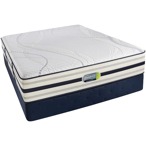 Simmons Beautyrest Recharge Hybrid - Parker  Twin Hybrid Luxury Firm Mattress and Foundation