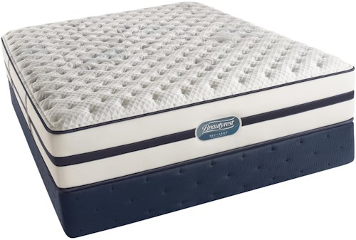 Simmons Beautyrest Recharge Ultra - Caroline  Full Luxury Firm Mattress and Foundation