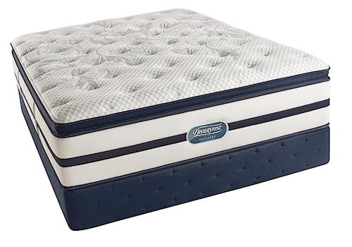 Simmons Beautyrest Recharge Ultra - Caroline  Full Pillow Top Luxury Firm Mattress and Foundation