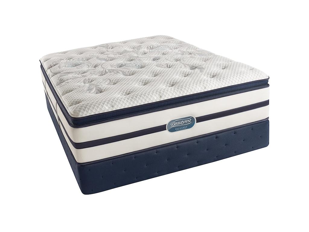 Simmons Beautyrest Recharge Ultra - Caroline King Plush Pillow Top Mattress