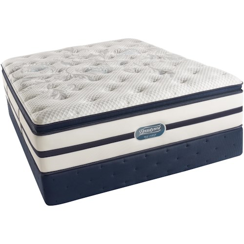 Simmons Beautyrest Recharge Ultra - Caroline  King Plush Pillow Top Mattress