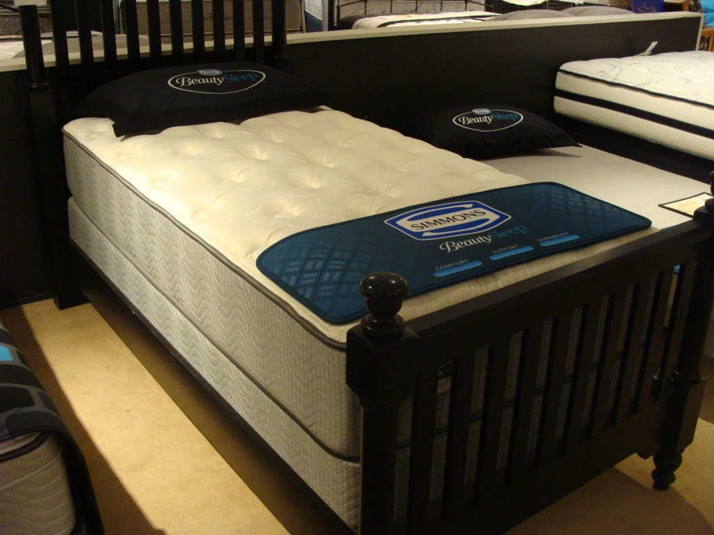 Simmons Persia PlushTwin Plush Mattress Set