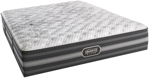 Simmons BR Black Calista Queen Extra Firm Mattress and SmartMotion™ 1.0 Adjustable Base