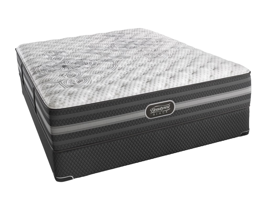 Simmons BR Black CalistaFull Extra Firm Mattress Set