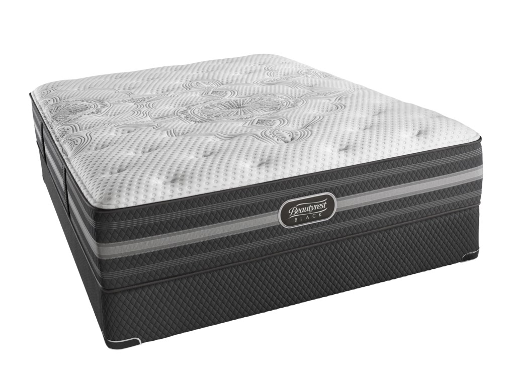 Simmons BR Black DesireeKing Luxury Firm Mattress Set, LP