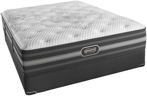 Simmons BR Black Desiree Queen Plush Mattress and SmartMotion™ 1.0 Adjustable Base