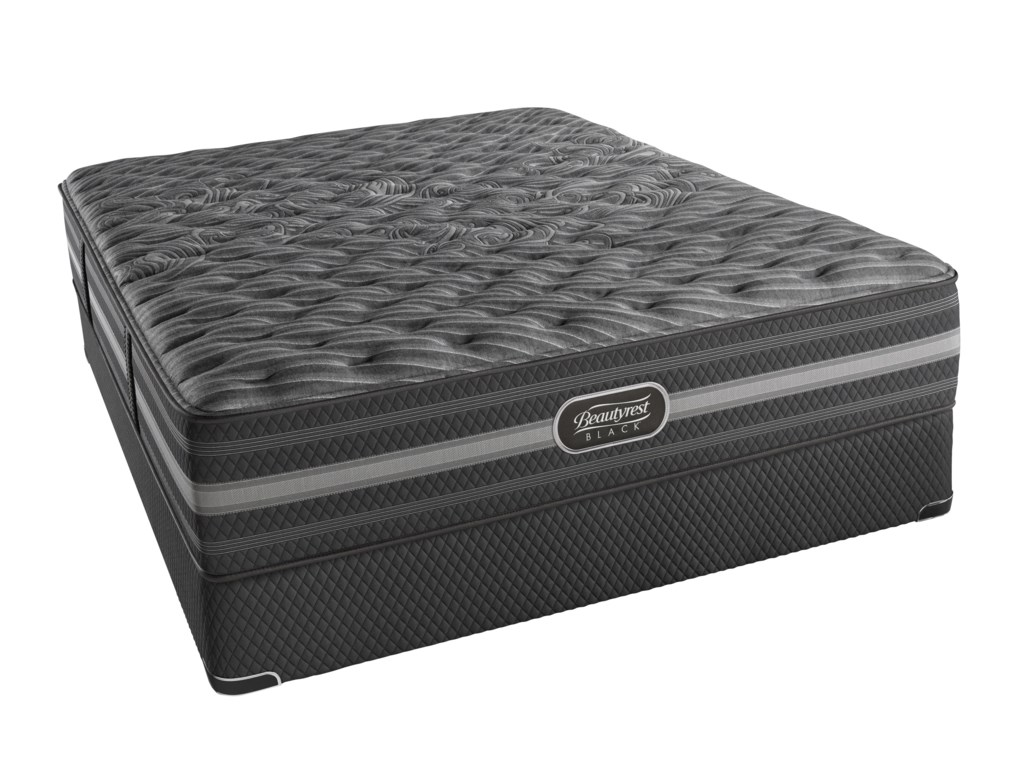 Simmons BR Black MarielaFull Extra Firm Mattress Set, LP