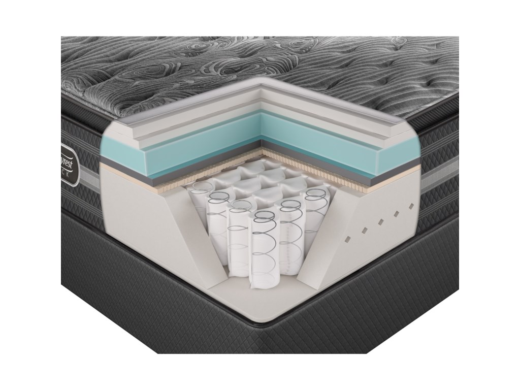 Simmons Beautyrest Black NatashaKing Luxury Firm P.T. Mattress