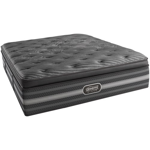 Simmons BR Black Natasha Split King Ultra Plush Pillow Top Mattress