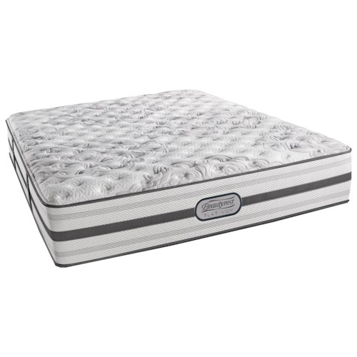 Beautyrest Platinum Amberlyn Cal King Extra Firm Mattress and SmartMotion™ 3.0 Adjustable Base