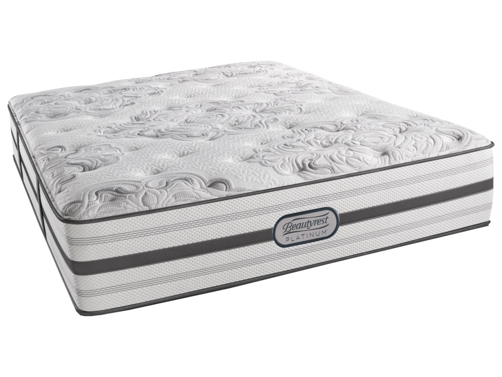Beautyrest BR Platinum BrittanySplit King Plush 14.5