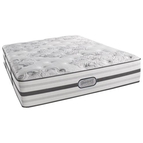 Beautyrest Platinum Brittany King Luxury Firm Mattress and SmartMotion™ 3.0 Adjustable Base