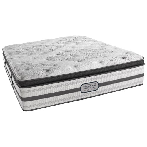 Beautyrest Platinum Gabriella King Luxury Firm Pillow Top Mattress and SmartMotion™ 3.0 Adjustable Base