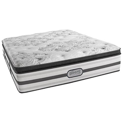 Beautyrest Platinum Gabriella Twin XL Lux Firm Pillow Top Mattress and SmartMotion™ 1.0 Adjustable Base