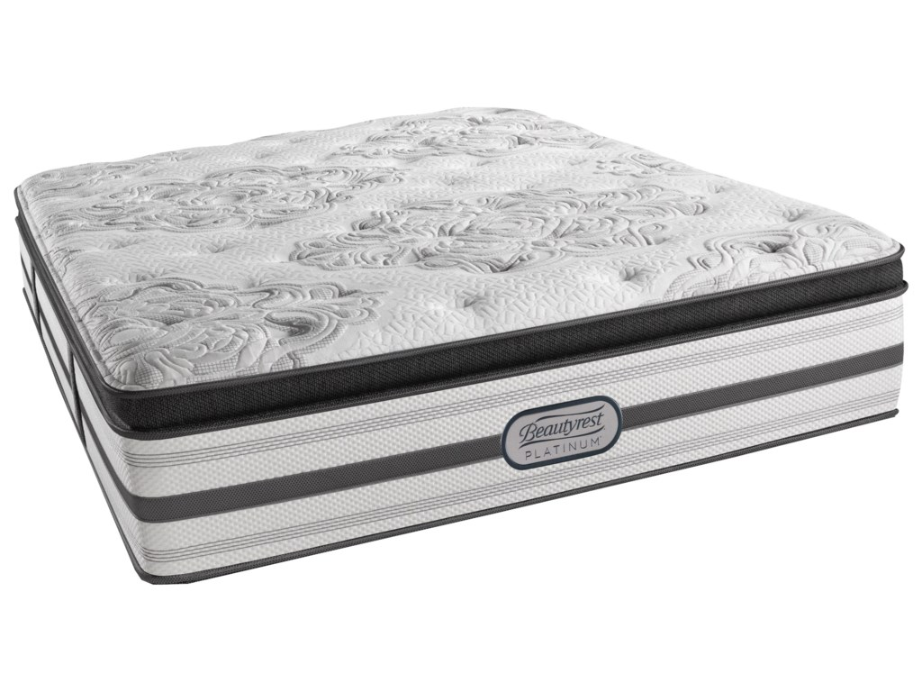 Beautyrest BR Platinum GabriellaCal King Plush Pillow Top 15