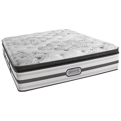 Beautyrest Platinum Gabriella Cal King Plush Pillow Top Mattress and SmartMotion™ 3.0 Adjustable Base