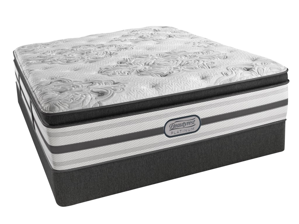 Beautyrest BR Platinum GabriellaTwin XL Plush Pillow Top 15