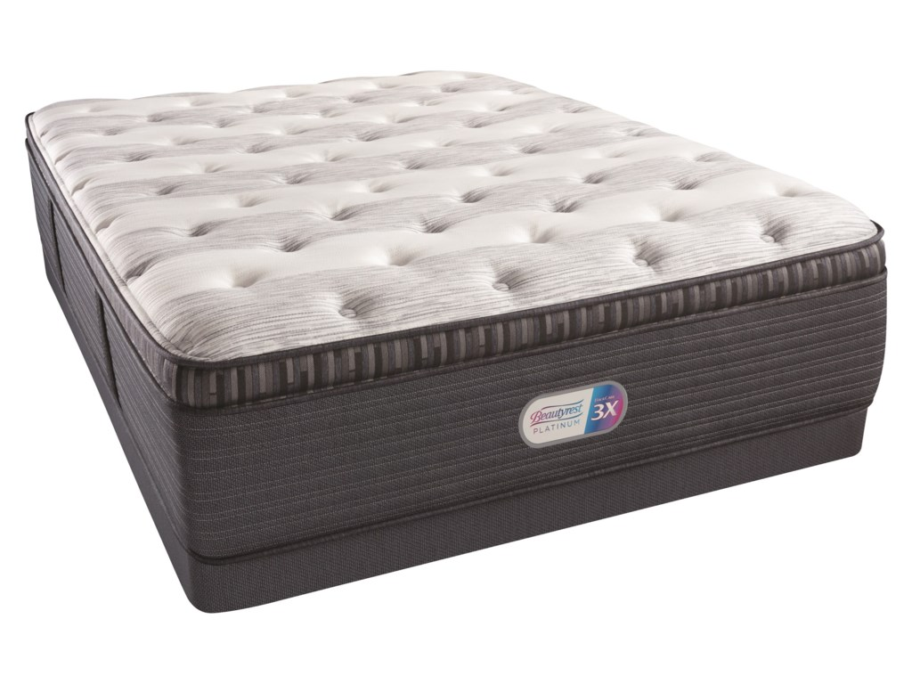 Beautyrest Beautyrest Platinum Haven Pines Luxury Firm PTKing 16