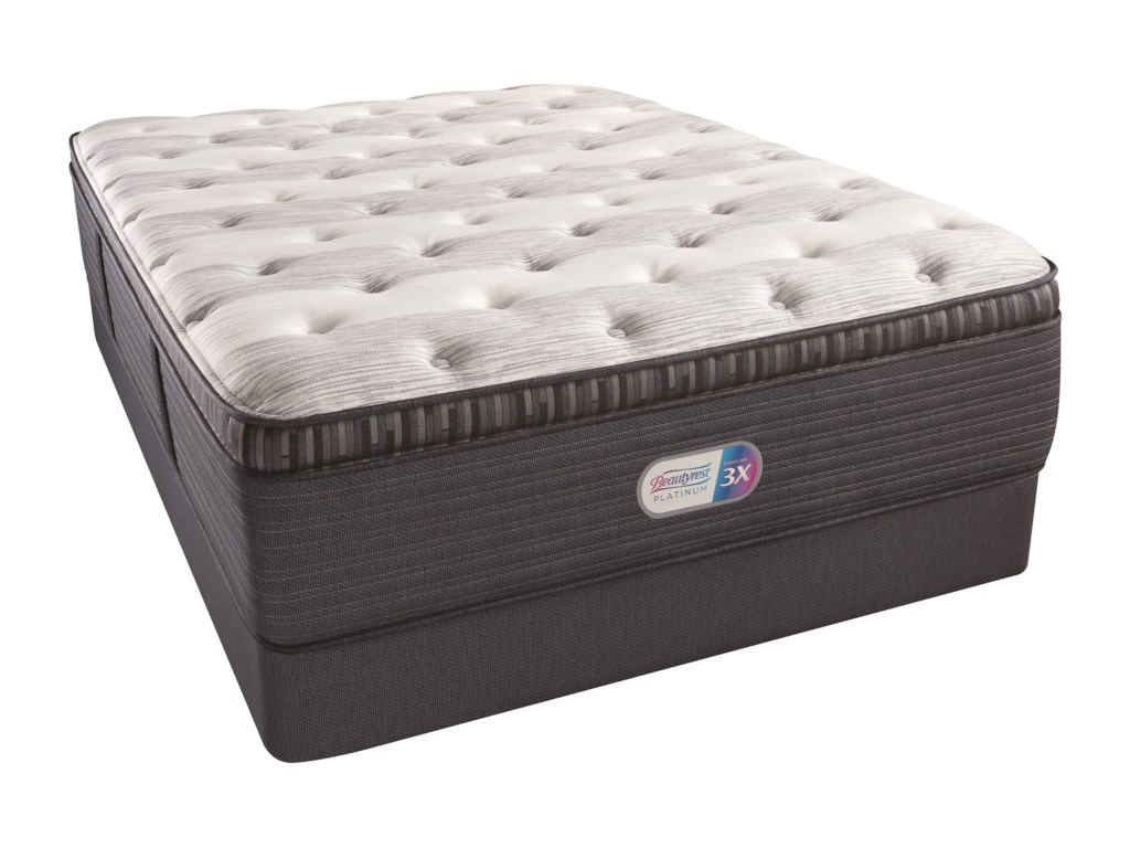Beautyrest Beautyrest Platinum Haven Pines Plush PTFull 16