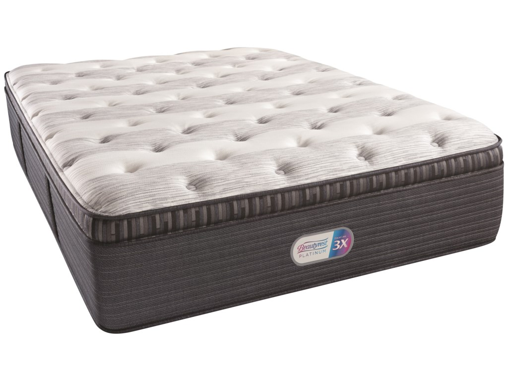 Beautyrest Beautyrest Platinum Haven Pines Plush PTQueen 16