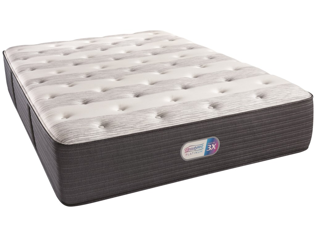 Beautyrest Platinum Kenway PlushBeautyrest Queen Adjustable Set